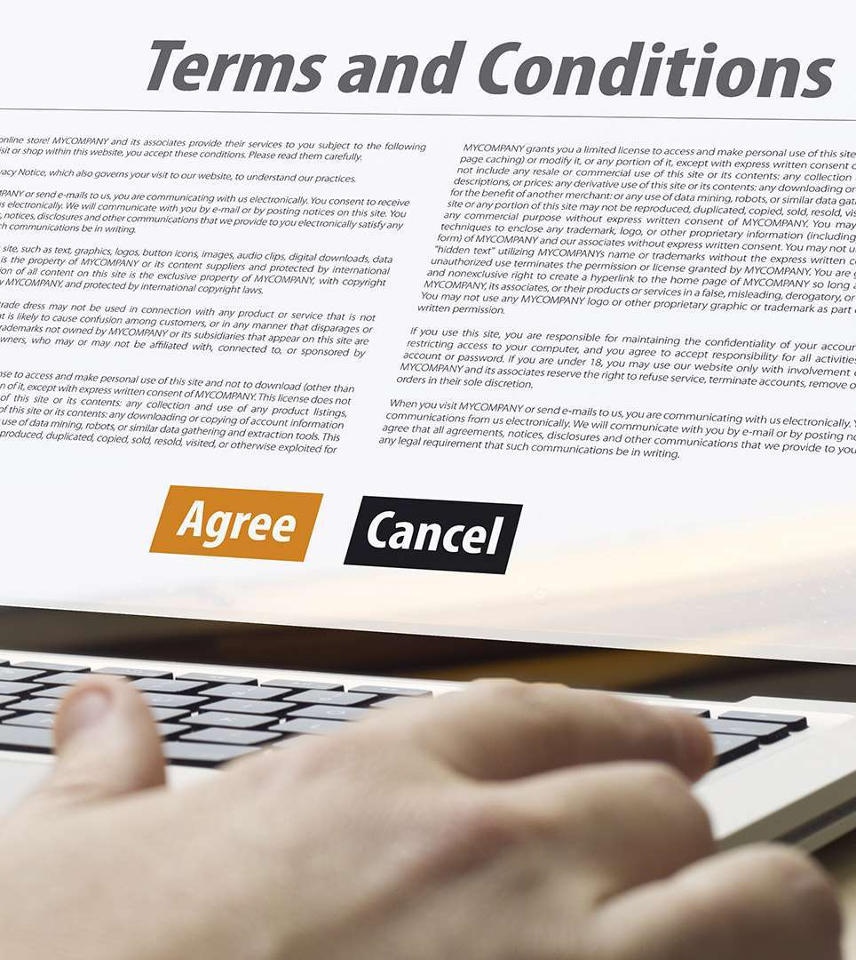 TERMS AND CONDITIONS FOR THE LAKE POINT LODGE