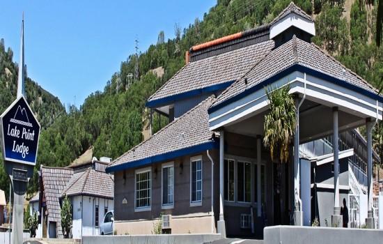 Lake Point Lodge - Exterior - Sign + Carport Roadside 4